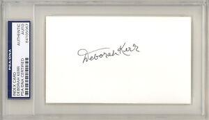 DEBORAH-KERR-SIGNED-AUTOGRAPHED-3-X-5-INDEX-CARD-PSA-AUTHENTIC-511