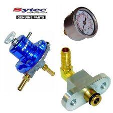 Sytec regulador de presión de combustible Kit + Indicador De Combustible Subaru Impreza Turbo (92-00)