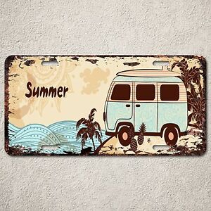 LP0167-Old-Vintage-Summer-Hawaii-Sign-Auto-License-Plate-Home-Store-Gift-Decor