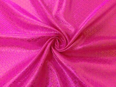 Silver Black Bling Diamond Metallic Brocade Fabric Lining Drape Decor Tablecloth