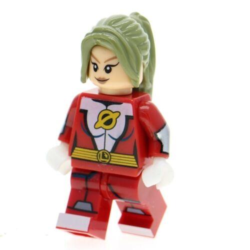 SATURN GIRL LEGION OF SUPERHEROES DC COMICS MINIFIGURE FIGURE USA FITS LEGO