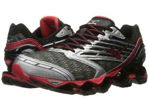New Mizuno Wave Prophecy 5 Running Shoes Men s Size 9 Gunmetal Red ... ea27eb5e5563f