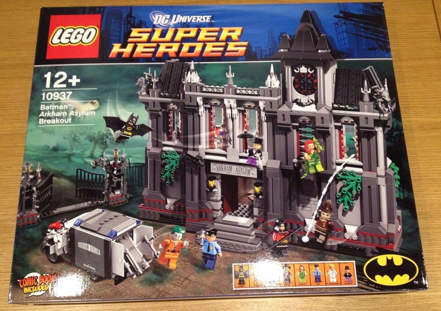 LEGO DC Comics Super Heroes Batman Arkham Asylum Breakout (10937) New Sealed