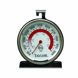 Taylor 5932 Classic Stainless Steel Oven Thermometer Cooking Dial