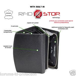 bef87df0f0 protezione RFID pelle naturale DONNA MINI portafoglio UK LONDON ...