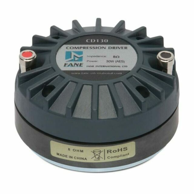 """Pair Radian 475PB High Frequency Compression Driver 1/"""" Compression Driver 16 ohm"""