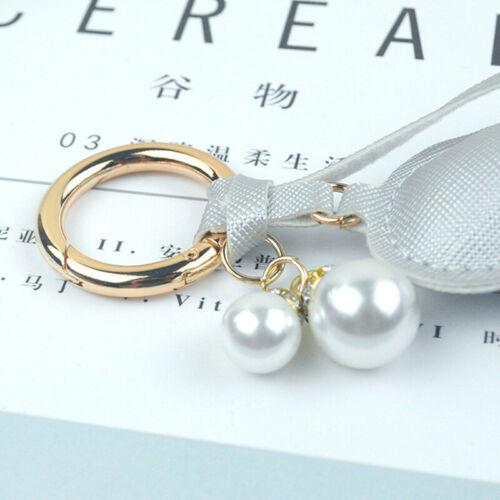 Details about  /Ladies Love Heart Keychain Key Ring Charm Bag Pendant Tassel Keyring Ornament CF
