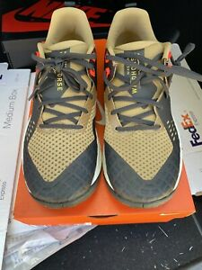 Nike-Air-Zoom-Wildhorse-5-Trail-Running-Shoes-Tan-Black-AQ2222-200-Men-039-s-Size-9