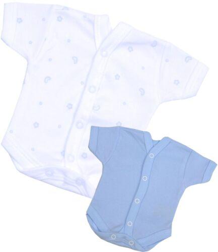 BabyPrem Vorzeitige Baby Boys Kleidung Blaue NICU Neonatale Westen 32-50cm
