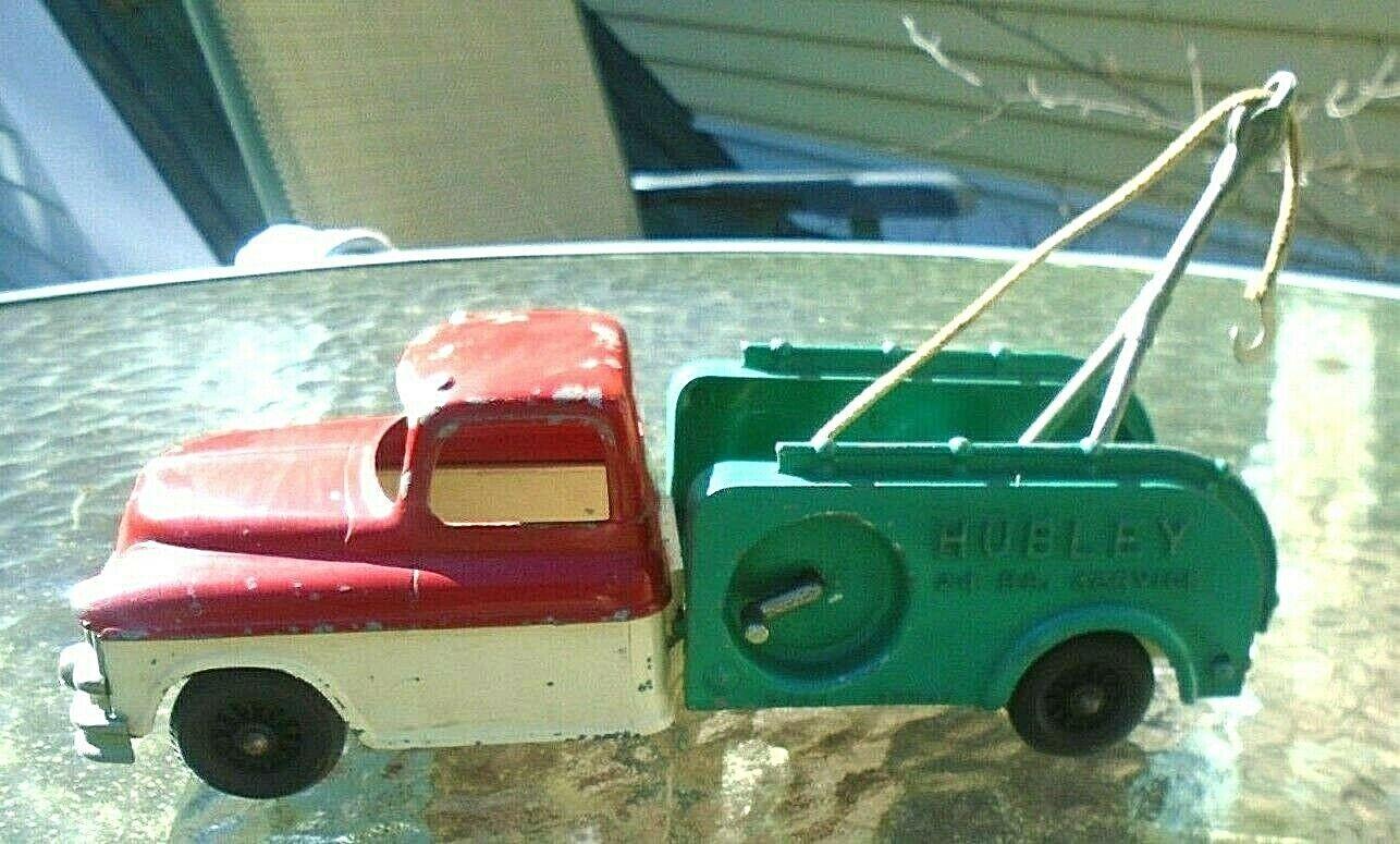 Alte Hubley Druckgegossen Kiddie Spielzeug Abschleppwagen