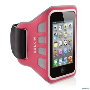 Ipod-Touch-4g-4th-GEN-Belkin-Brazalete-EASEFIT-ROSA-FUNDA-Running-COMPATIBLE