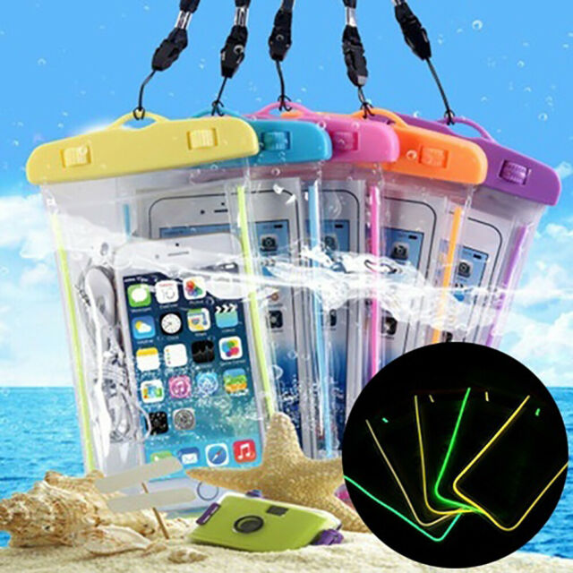Waterproof Pouch Swimming Beach Dry Bag Case Cover Holder for Cell Phone Eyeful
