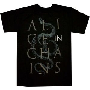 Alice-In-Chains-Snakes-Shirt-S-M-L-XL-XXL-Official-T-Shirt-Tshirt-New