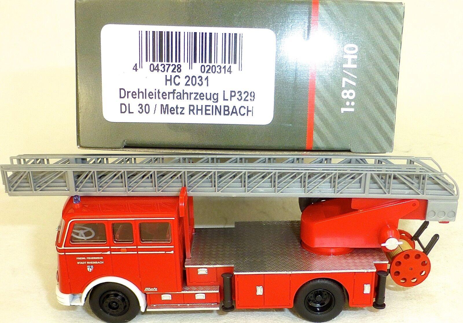 Drehleiter véhicule lp329 dl30 Metz rheinbach rheinbach rheinbach Heico hc2031 OVP NOUVEAU μ d7cdf6