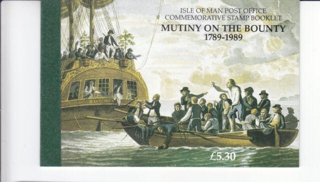 IOM Mutiny on the Bounty Prestige stamp booklet