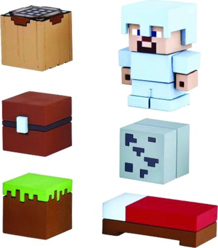 Minecraft Mine-Keshi Survival Pack With Steve Starter Set