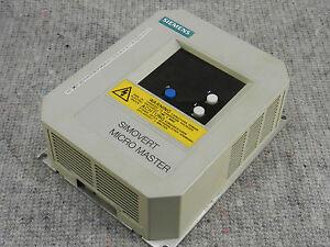 Antriebe & Bewegungssteuerung Siemens Simovert Micromaster 6se3013-4ba07-3kk0 4693057 B3309 G85139-d2792-a075 Professionelles Design