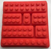Silicone Lego Brick Candy Chocolate Party Favor Jello Soap Crayon Mold Pan Us