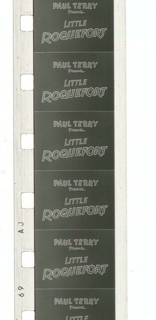 8mm Film Cartoons - Little Roquefort, Conrad the Sailor, Tall Timber Tale