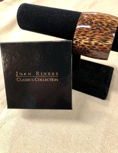 Brand New Joan Rivers Leopard Print Walk on the Wild Side Cuff Bracelet  MSA93