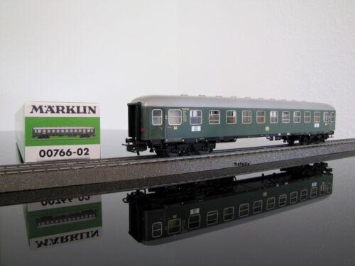 neu in OVP Märklin 00766-02 Feinblech D-Zug-Wagen der DB