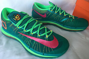 pretty nice ad61b b0f89 Image is loading Nike-KD-6-Elite-Turbo-Green-Hero-Pack-