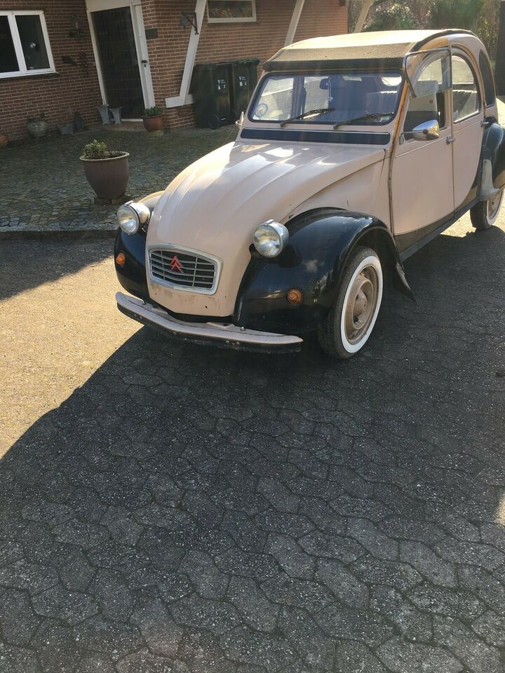 Citroën 2CV, 0,6, Benzin
