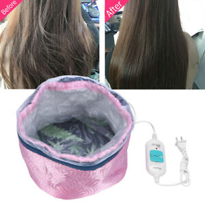 Heating-Steam-Electric-Hair-Cap-Steamer-Oil-Hat-Styling-Beauty-Care-Thermal