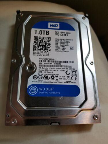 Western Digital WD10EZEX 1TB Hard Disk Drive - Blue