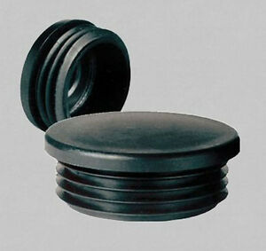 10x stopfen f r rundrohr 60 mm 2 lamellenstopfen ebay. Black Bedroom Furniture Sets. Home Design Ideas