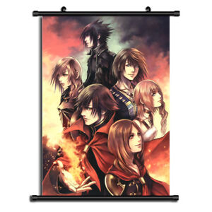 Details About Final Fantasy 13 Anime Wall Art Home Decoration Scroll Poster