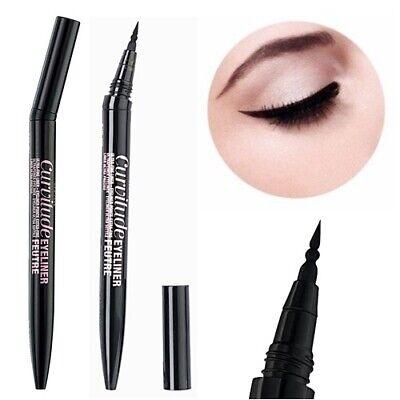 67f3b4eb4cb Details about New Maybelline Curvitude Eyeliner Feutre Ultra Fine Liner 01  Black Noir