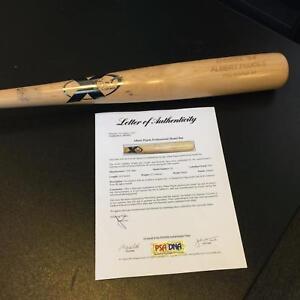 2003 Albert Pujols Authentic Game Issued X-Bat Baseball Bat PSA DNA COA