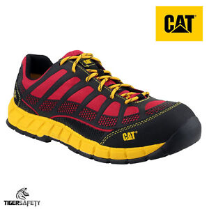 Caterpillar Cat Streamline Ct S1p Red Composite Toe Cap
