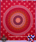 Indian Mandala Queen Bedspread Tapestry Wall Hanging Hippie bohemian Beach Throw