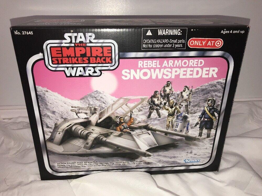 Star Wars 2010 Vintage Collection Rebel ArmoROT Snowspeeder Target Exclusive