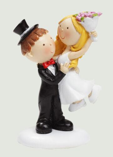 Hochzeitspaar//Hochzeit//Brautpaar//Tortenaufsatz//Hochzeitstorte//Figur//Torte *9 cm*