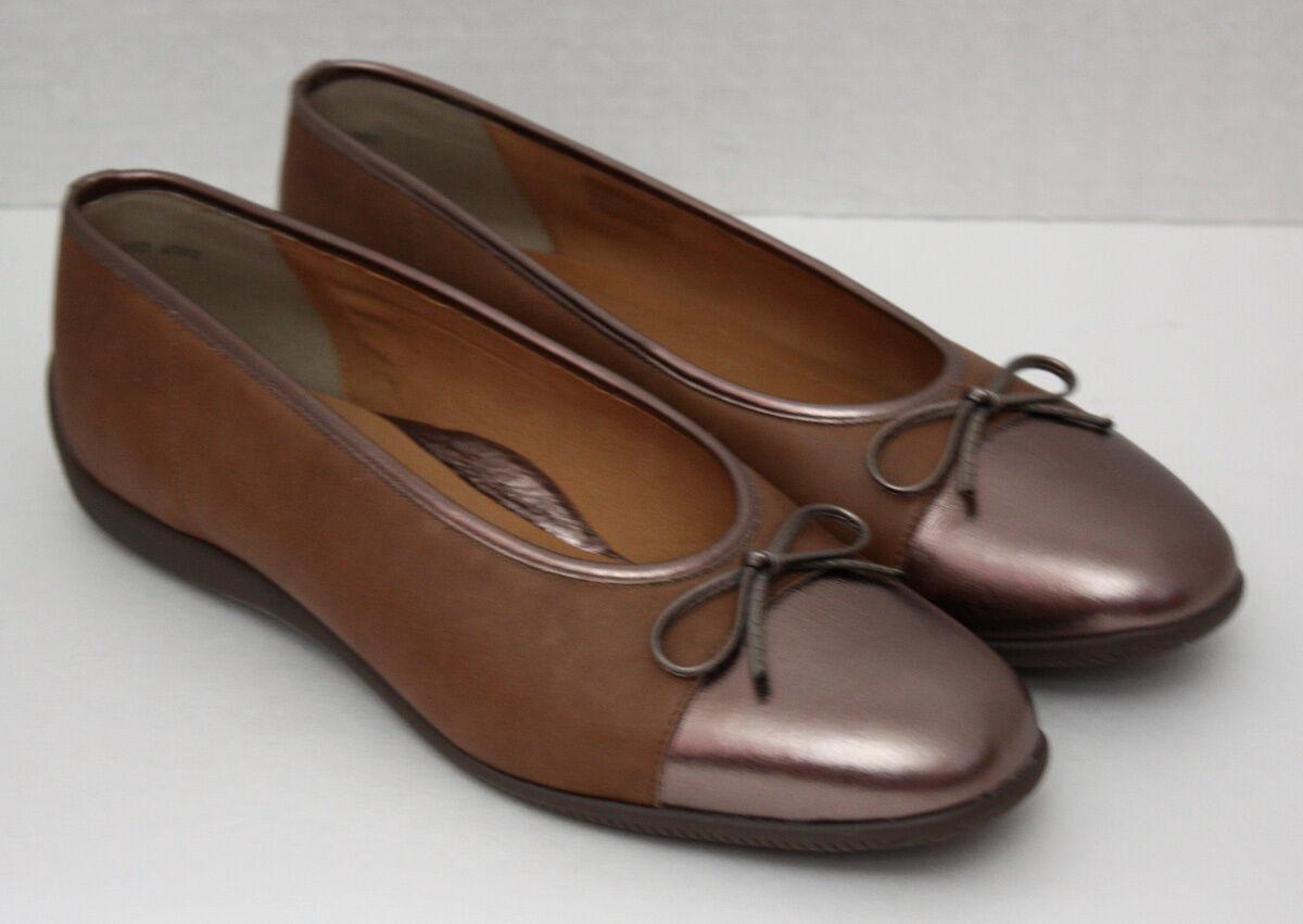 EUC mujer ARA  185 cuero comodidad zapatos 10 tamaño UK 7.5   U.S. 10 zapatos 572929