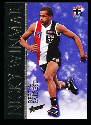 1996 Select Best and Fairest Nicky Winmar St Kilda