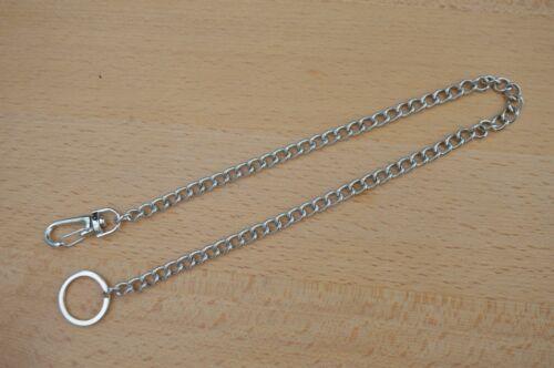 Total length: 40cm Silver Metal Keyring// Hipster Keychain for Key Wallet etc