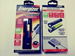 2x-Energizer-Portable-Single-USB-Charger-2200mAh-25-Hours-ENG-BB07-Brand-New