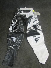 "Fox Racing 360 Kawasaki Motocross/Enduro/Trail Adulto Pantalones Negro/WHI 30"" FOX11"
