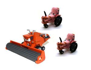 Disney pixar movie cars diecast tractor chewall frank combine harvester toy car ebay - Moissonneuse cars ...