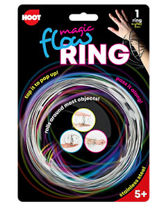 Fidget-Spinning-Flow-Ring-Toys-Magic-Kinetic-Spring-Infinity-Arm-Slinky-Juggle