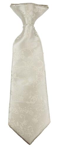 Paul Malone festliches Jungen Westen Set 2tlg ivory floral mit Krawatte