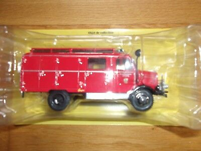 TGL 8.220 fire engine France red//yellow 1:43 Atlas M.A.N