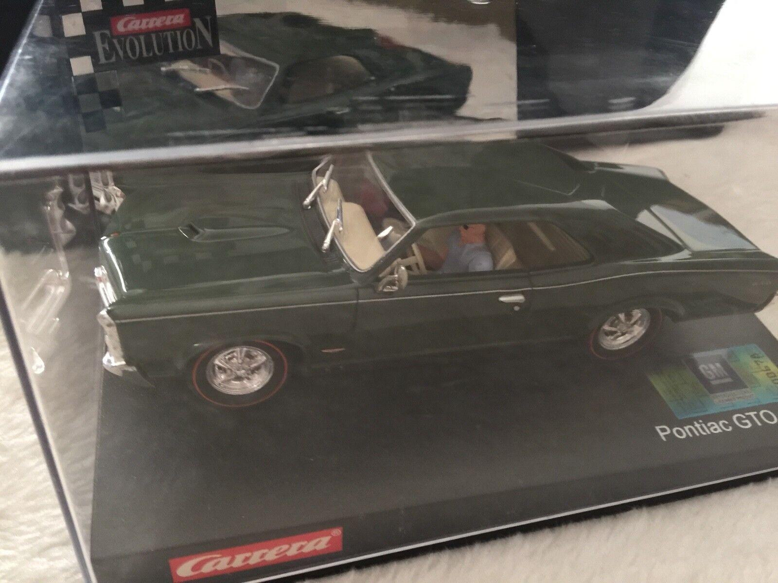 Carrera 25444 Pontiac GTO 1966 dark green