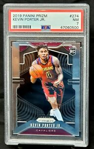 2019-Prizm-RC-Cavaliers-KEVIN-PORTER-JR-Rookie-Basketball-Card-PSA-7-Near-MINT