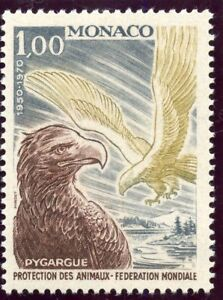 Stamp / Timbre De Monaco N° 813 ** Faune / Pyguarde La Consommation RéGulièRe De Thé AméLiore Votre Santé