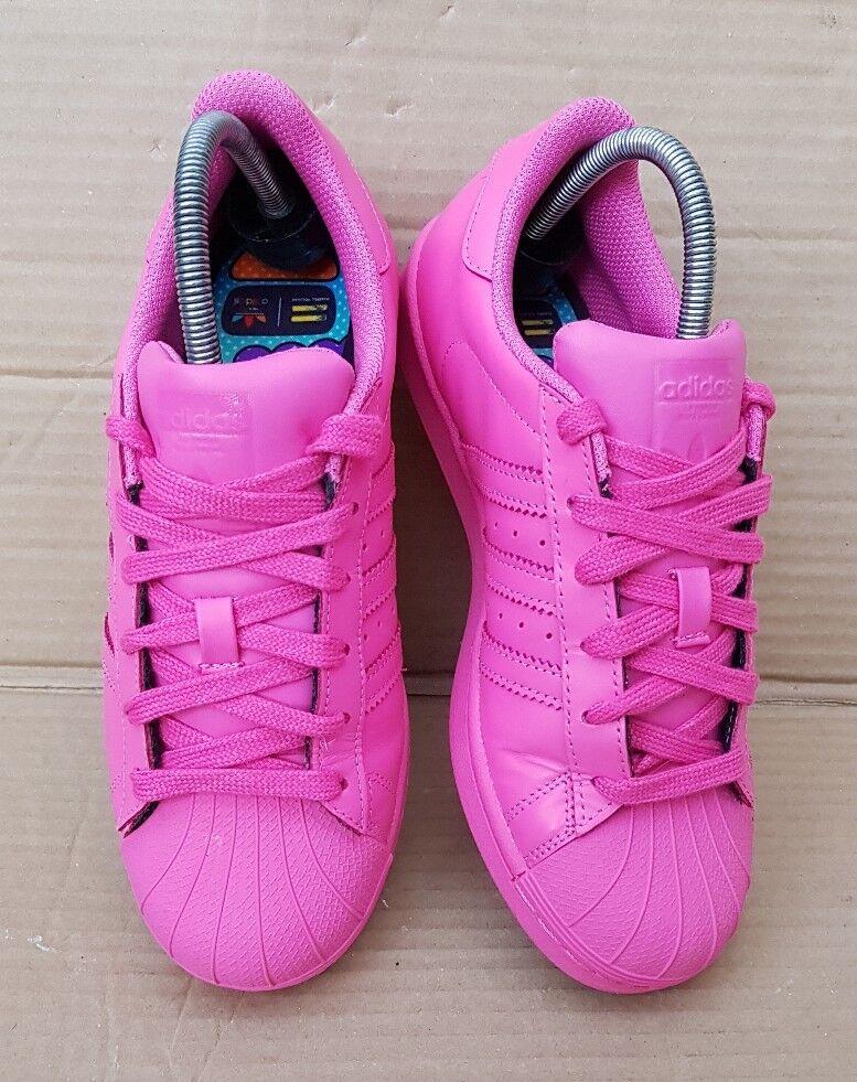 Adidas Superstar Pharrell Williams supercolors Entrenadores Reino Unido Rosa